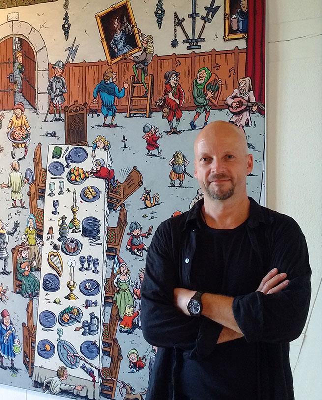 Wimmelbild-Zeichner Ivo Kircheis