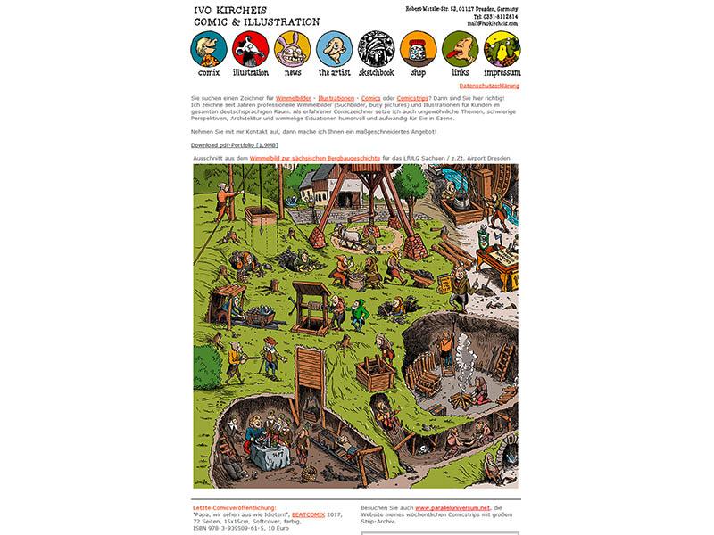 alte website www.ivokircheis.com
