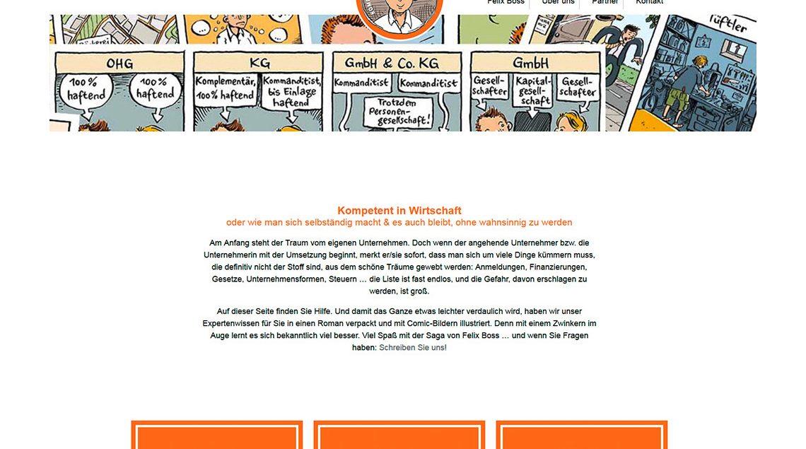 Screenshot kompetent-in-wirtschaft.de